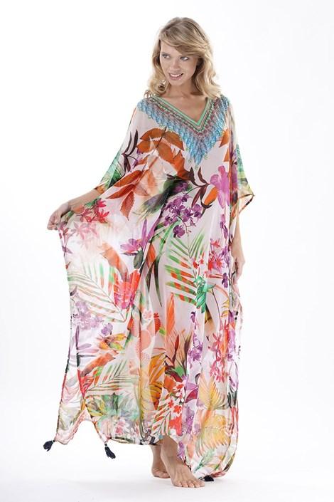 Iconique Dámské plážové šaty Lucia barevná uni