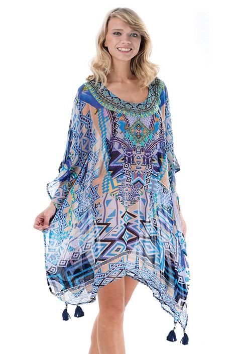 Iconique Dámské plážové šaty Noemi I barevná uni