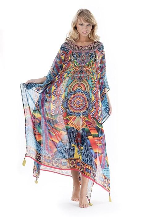 Iconique Dámské plážové šaty Fiona barevná uni