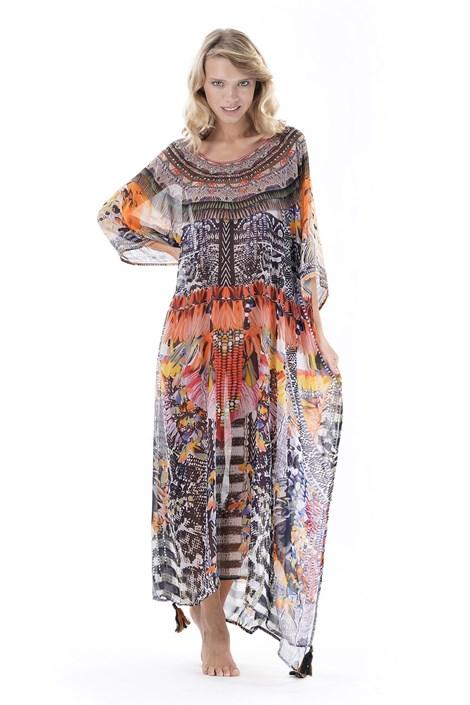 Iconique Dámské plážové šaty Eleonora barevná uni