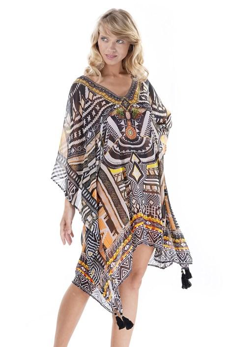 Iconique Dámské plážové šaty Elissia barevná uni