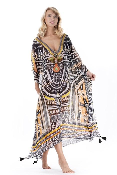 Iconique Dámské plážové šaty Laura I barevná uni