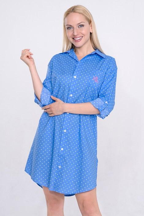 Dámská noční košile Ralph Lauren Blue Dot