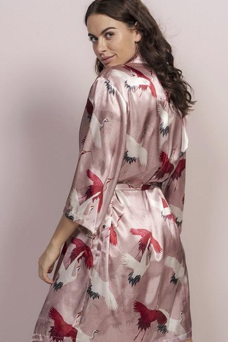Essenza Home Luxusní župan Izia Rose růžová S