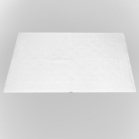 Bahar Koupelnová předložka Charles bílá bila 50x70