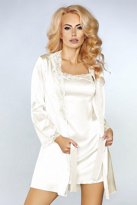 Elegantní saténový komplet Jacqueline