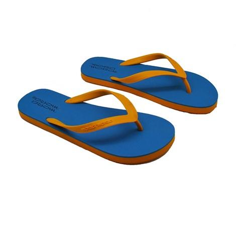 Mora Mora Pánské letní žabky Janeiro C modrožlutá 44