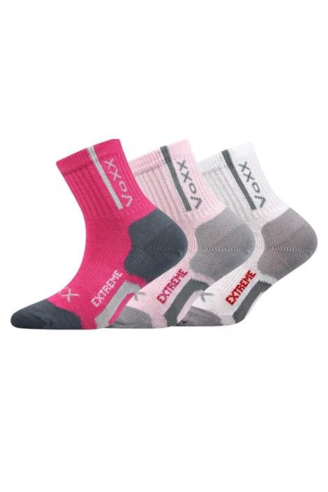 3 PACK sportovních dívčích ponožek Josífek