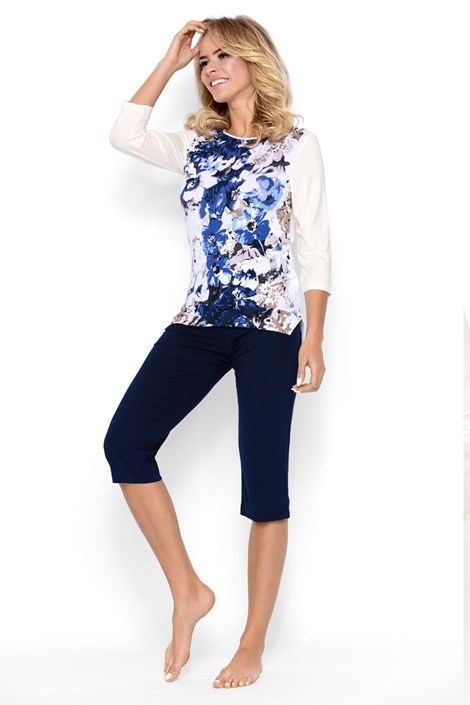 Envie Dámské pyžamo Kate modrá L
