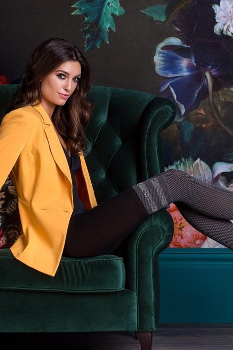 Gabriella Vzorované punčochové kalhoty Kate smoky 4