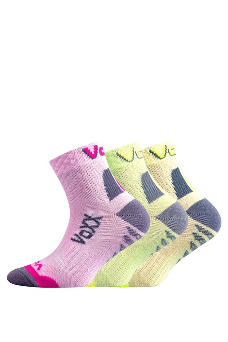 Boma 3 pack dívčích ponožek Kryptoxík barevná 35-38