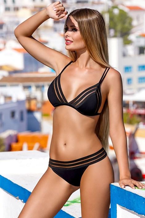 21e15de39 LORIN Dámské dvoudílné plavky Aida černá 38 | Spodní prádlo ...