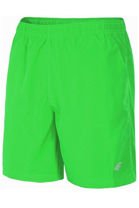 4F Pánské sportovní šortky 4f zelená S