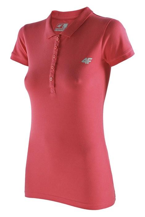 4F Dámské sportovní tričko 4F Golf koral XS