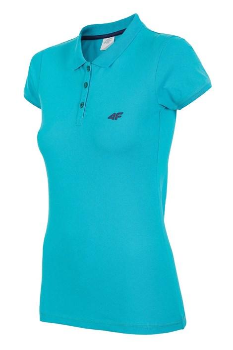 4F Dámské sportovní tričko 4F Golf tyrkysová XS