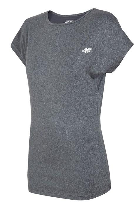 4F Dámské sportovní triko 4F Grey Thermo Dry šedá XS
