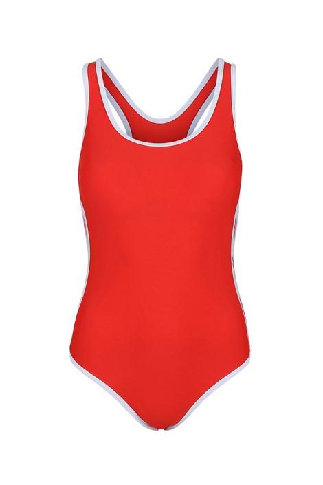 EXXO Agency Sp. Z o.o. Dámské jednodílné plavky Reebok Alyssa Red červená XS