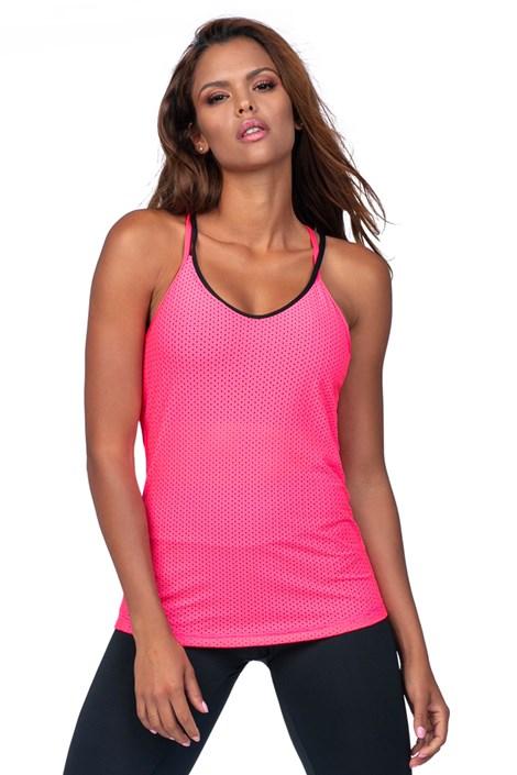 LORIN Dámské růžové sportovní tílko růžová XL