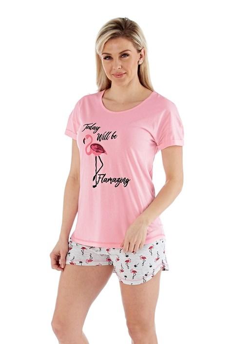 Selena Secrets Dámské pyžamo Flamazing krátké barevná 12/14