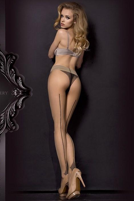 Ballerina Luxusní punčochové kalhoty HushHush 311 tělová S/M