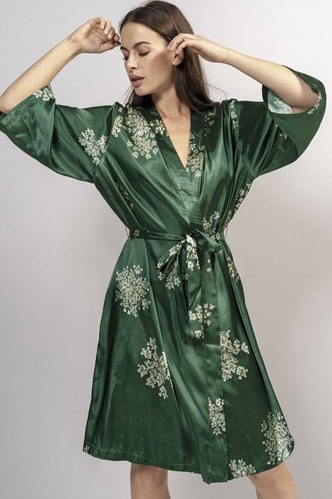 Essenza Home Luxusní župan Lauren Green zelená XXL