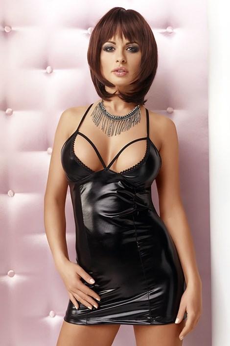 Irall Luxusní šaty Lexi černá XXL