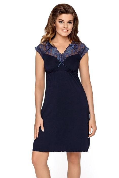 Dámská noční košile Liliana tmavě modrá