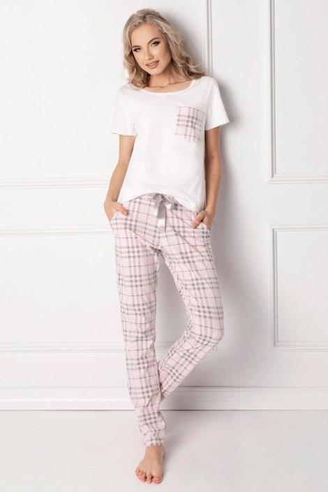 Aruelle Dámské pyžamo Londie dlouhé bílá XL