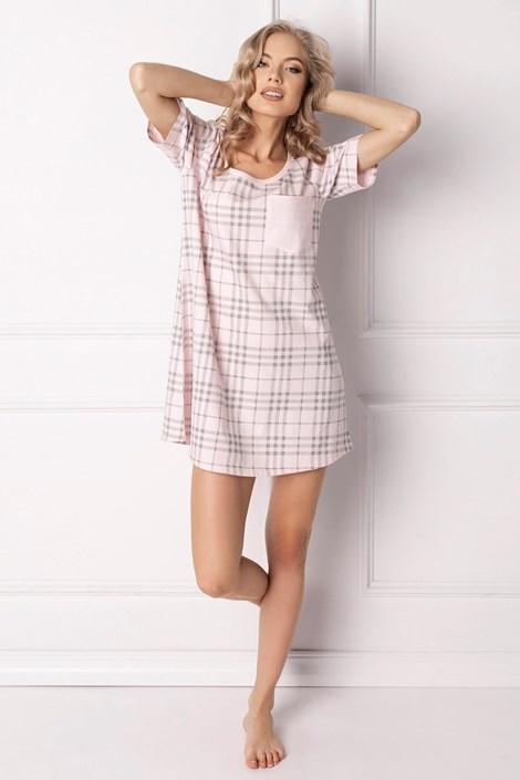 Aruelle Dámská noční košilka Londie růžová XL