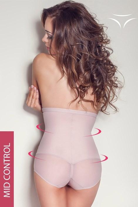 Mitex Stahovací kalhotky Love s vysokým pasem růžová XL
