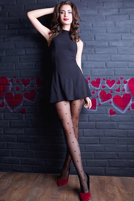 Giulia Punčochové kalhoty Lovers 10 černá S