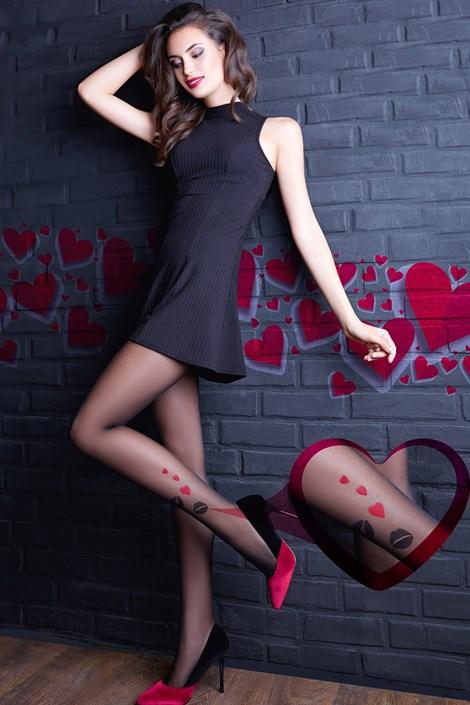 Giulia Punčochové kalhoty Lovers 11 černá S
