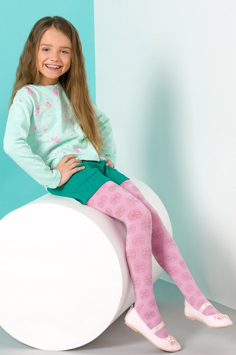 Gabriella Dívčí punčochové kalhoty Lusia coral 128-134
