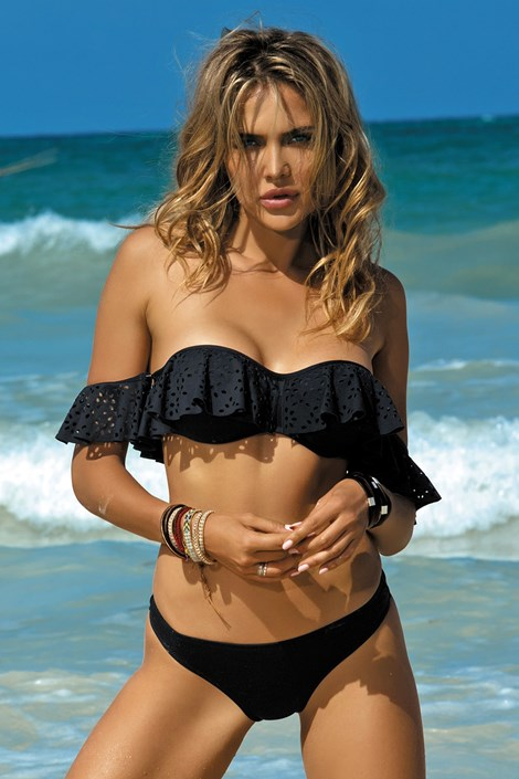 Dámské dvoudílné plavky Malaga black