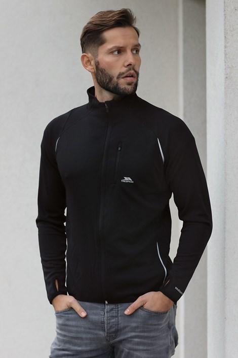 Czarna bluza funkcyjna Whiten