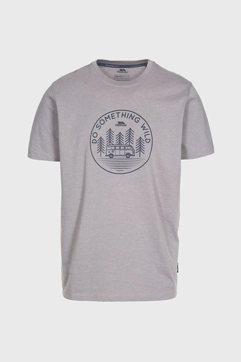 Trespass Šedé tričko Bothesford šedá XL