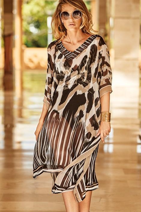 Miradonna Plážové šaty Aura barevná uni