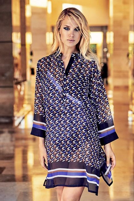 Miradonna Dámské plážové šaty Alice barevná XL