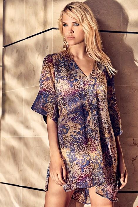 Miradonna Dámské plážové šaty Marta barevná XL