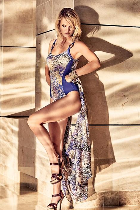 Miradonna Plážový šátek Serena barevná uni