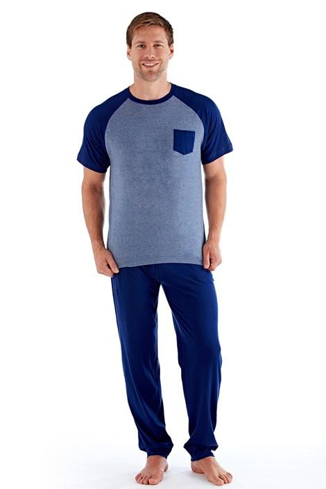 Fordville Pánské pyžamo Even nám.modrá XXL