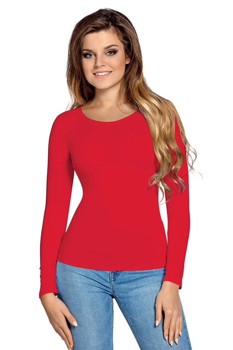 Babell Dámské tričko Melani dlouhý rukáv flamenco L