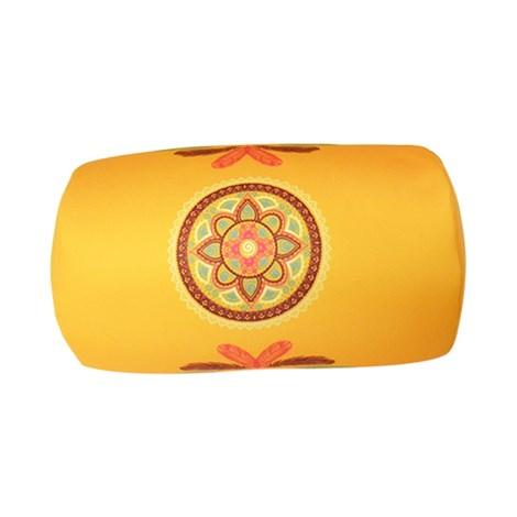 Mora Mora Polštářek Mandala žlutý zluta 30x17
