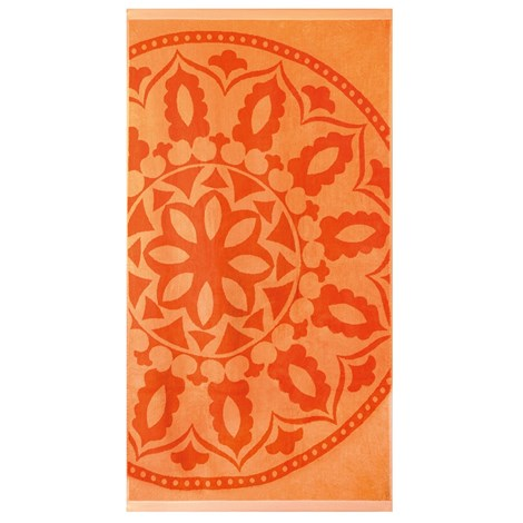 Artek92 Plážová osuška Mandala oranžová orange 90x170
