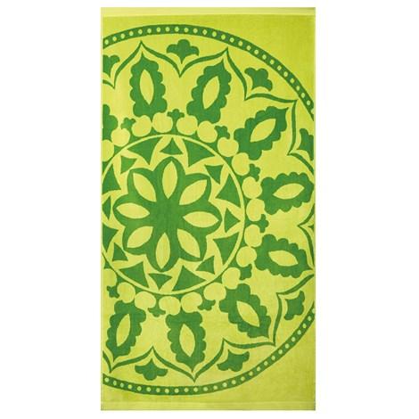 Artek92 Plážová osuška Mandala zelená zelena 90x170