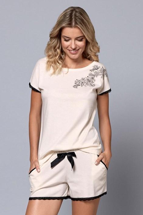 Nipplex Dámské pyžamo Margot smetanová XXL