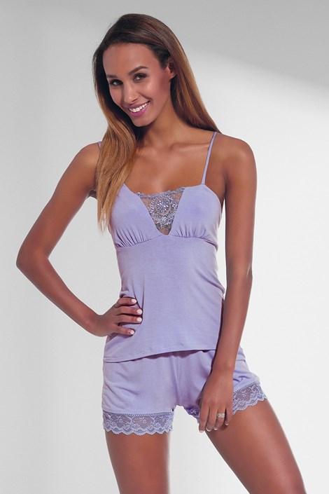 Krisline Dámské pyžamo Mariella levandulová XL