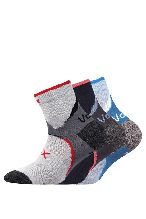 Boma 3 pack chlapeckých ponožky Maxterik barevná 35-38