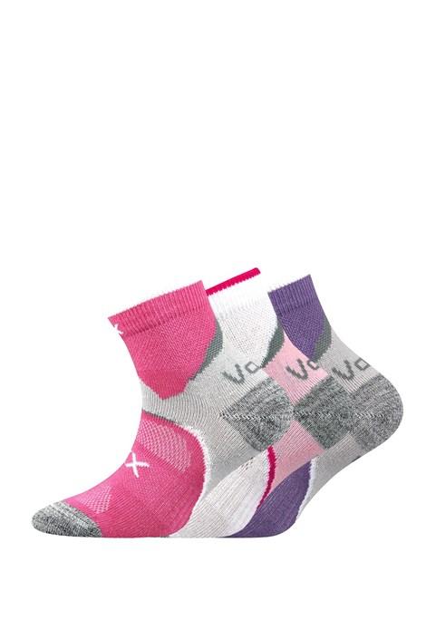 Boma 3 pack dívčí ponožky Maxterik barevna 35-38