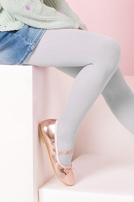Gabriella Dívčí punčochové kalhoty Mela bílá 140-146